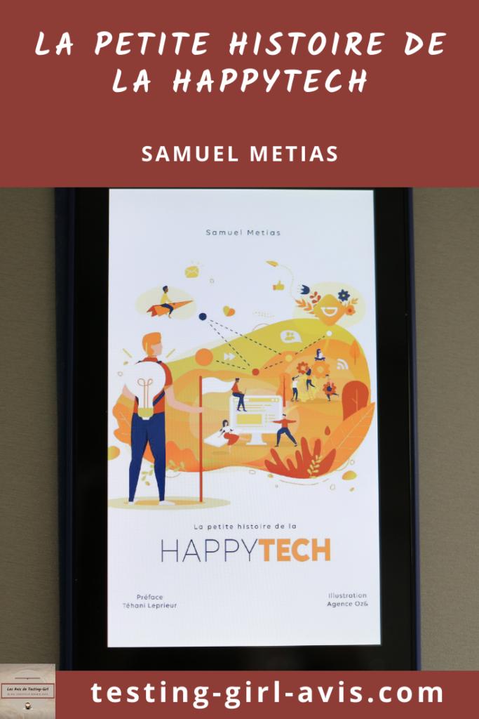 La Petite Histoire de la happytech ou le bien-être des salariés Pin