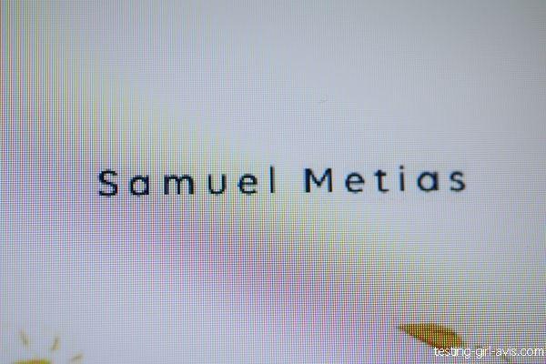 Samuel Metias auteur autoédité