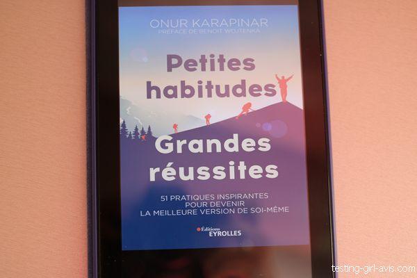 Petites habitudes, grandes réussites Onur Karapinar couverture livre
