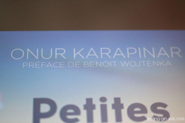 Onur Karapinar auteur entrepreneur