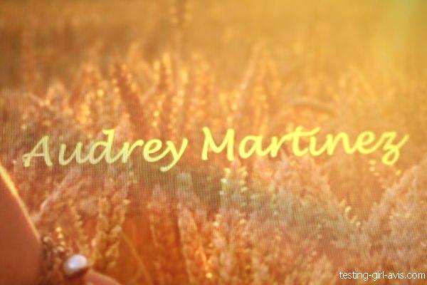 audrey martinez auteure indépendante