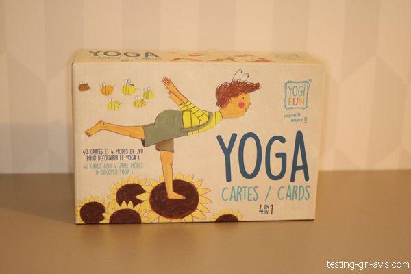 Le jeu de yoga pour enfant 4 en 1 de Buki
