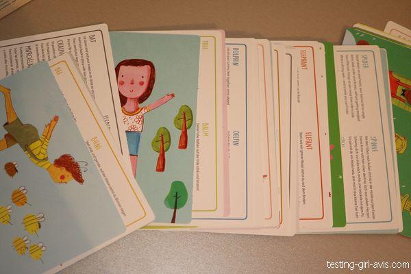 Les 40 cartes de jeu de yoga 4 en 1 YOGI FUN Buki enfant