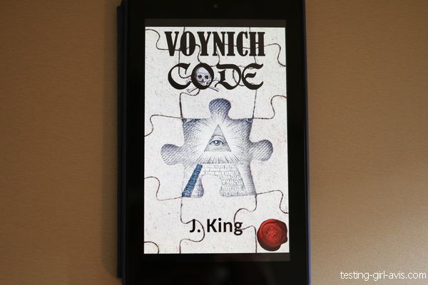 voynich code J. King couverture livre