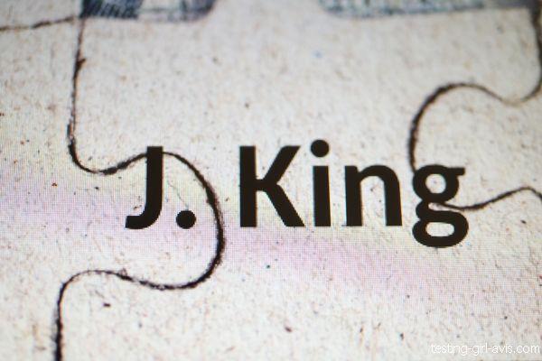 J. King auteur indépendant français