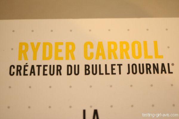 Ryder Carroll créateur du Bullet Journal