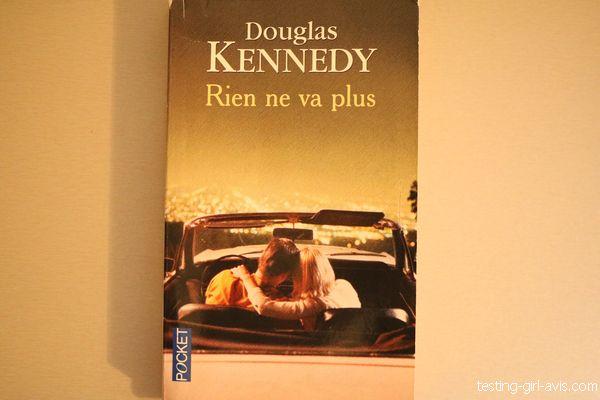 rien ne va plus douglas kennedy couverture du livre poche