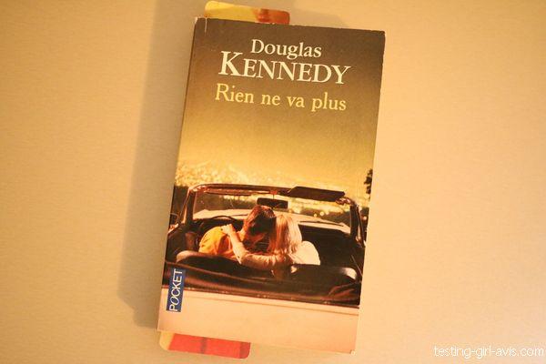 Rien ne va plus de Douglas Kennedy couverture livre pocket