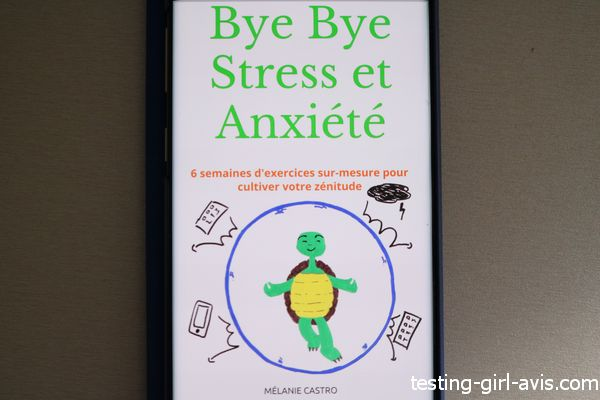 livre bye bye stress et anxiété mélanie castro