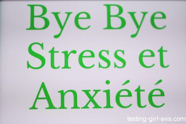 bye bye stress et anxiété
