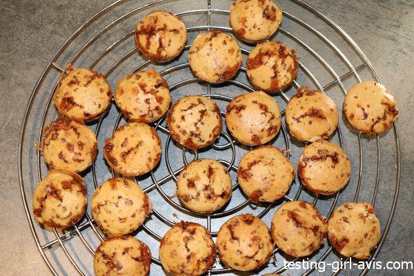 mini muffin au Daim