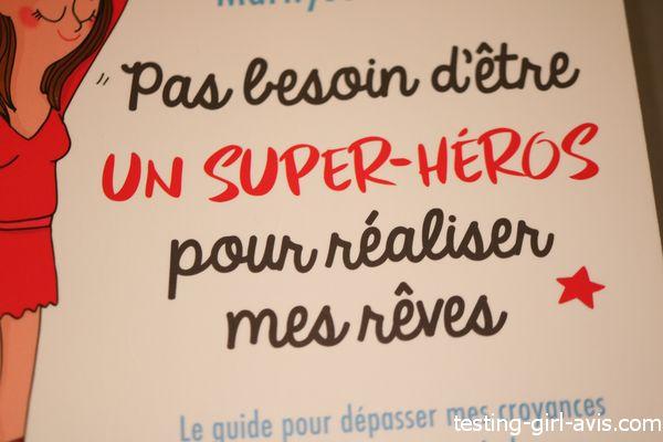 Je réinvente ma vieje ne suis pas une super héroïne