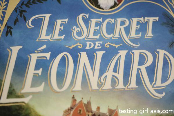 Le secret de léonard un livre pour file de 8 ans