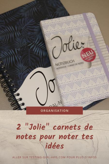 carnets de notes Jolie bullet journal Pin