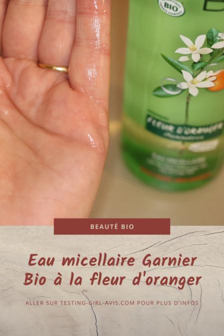 eau micellaire garnier bio Pin