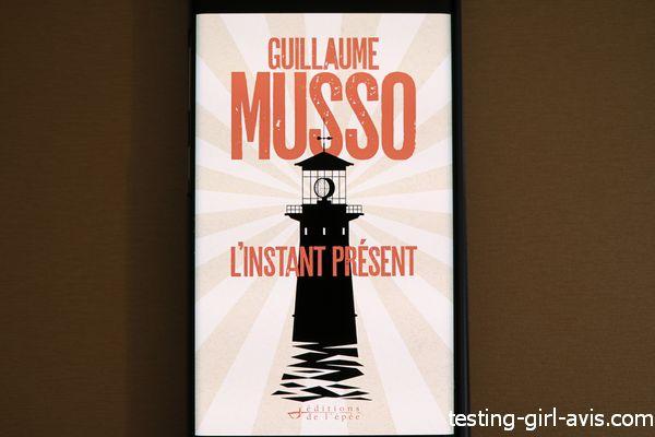 Guillaume Musso L'instant présent - phare des 24 vents