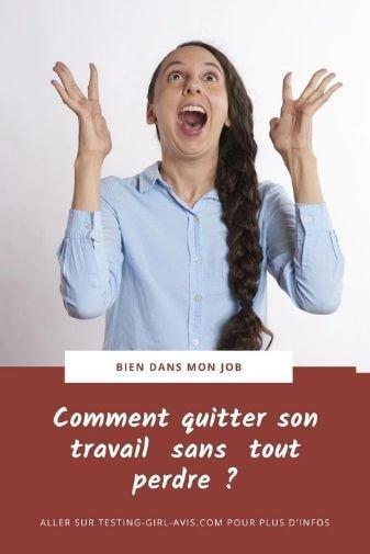 comment quitter son travail