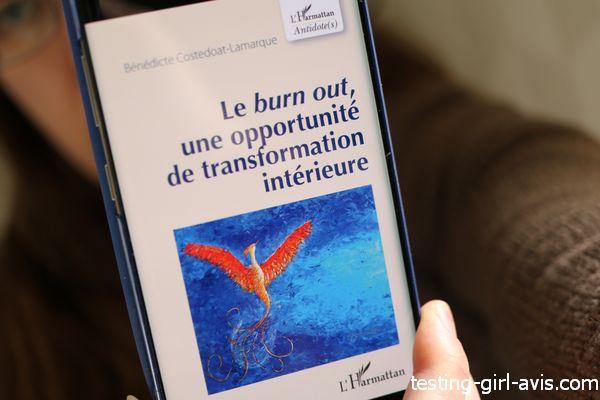 Le burn-out, une opportunité de transformation intérieure - Le livre