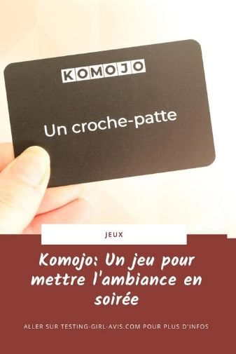 jeu Komojo avis