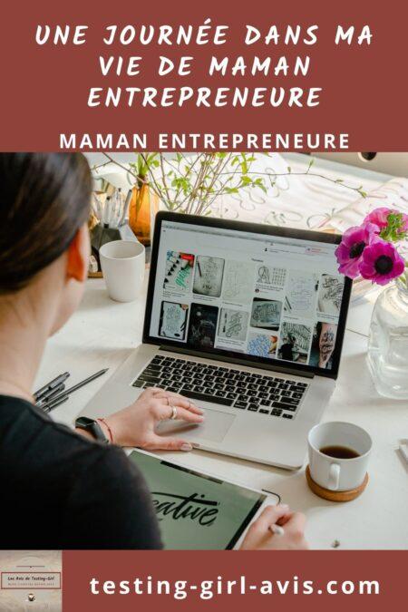 maman entrepreneure Pin 1
