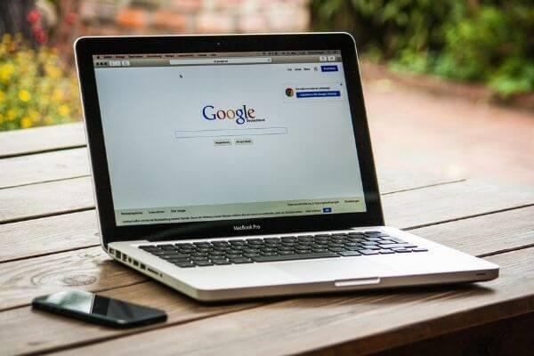 ordinateur recherche Google