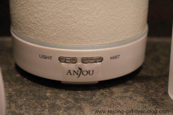 diffuseur d'huiles essentielles compact en céramique Anjou